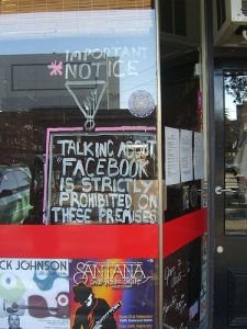 No Facebook - Blessington St, St Kilda